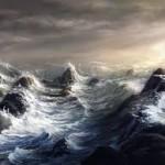 EDL Pix stormy sea