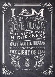 EDL LIGHT John 8.12